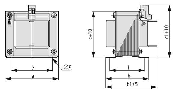 DEK graphic - Single-phase commutating choke