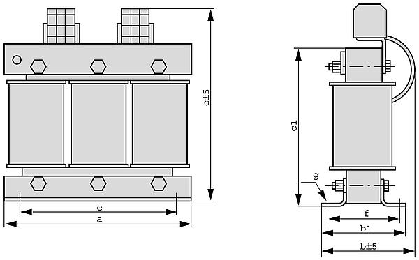 DTSP graphic - Three-phase autotransformer