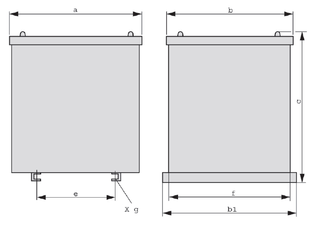IP23 graphic 2 - Protective steel sheet enclosure