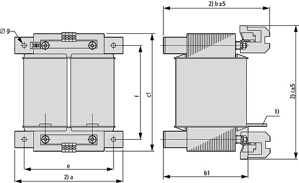 STN graphic 2 - Single-phase control transformer